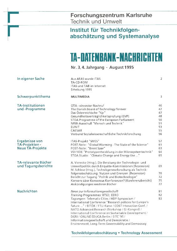 View Vol. 4 No. 3 (1995): Multimedia