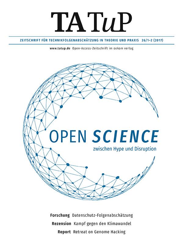 TATuP 26/1-2 (2017) Cover