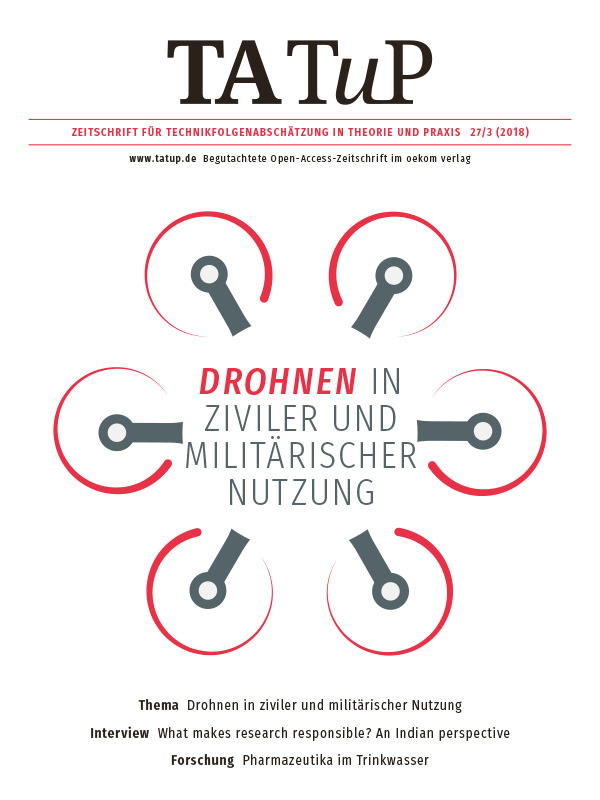 View Vol. 27 No. 3 (2018): Drones in military and civil applications